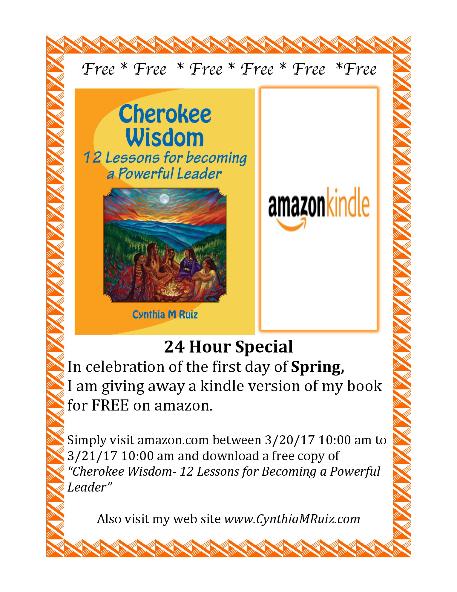 * 24- Hour Special * Download my Book for FREE