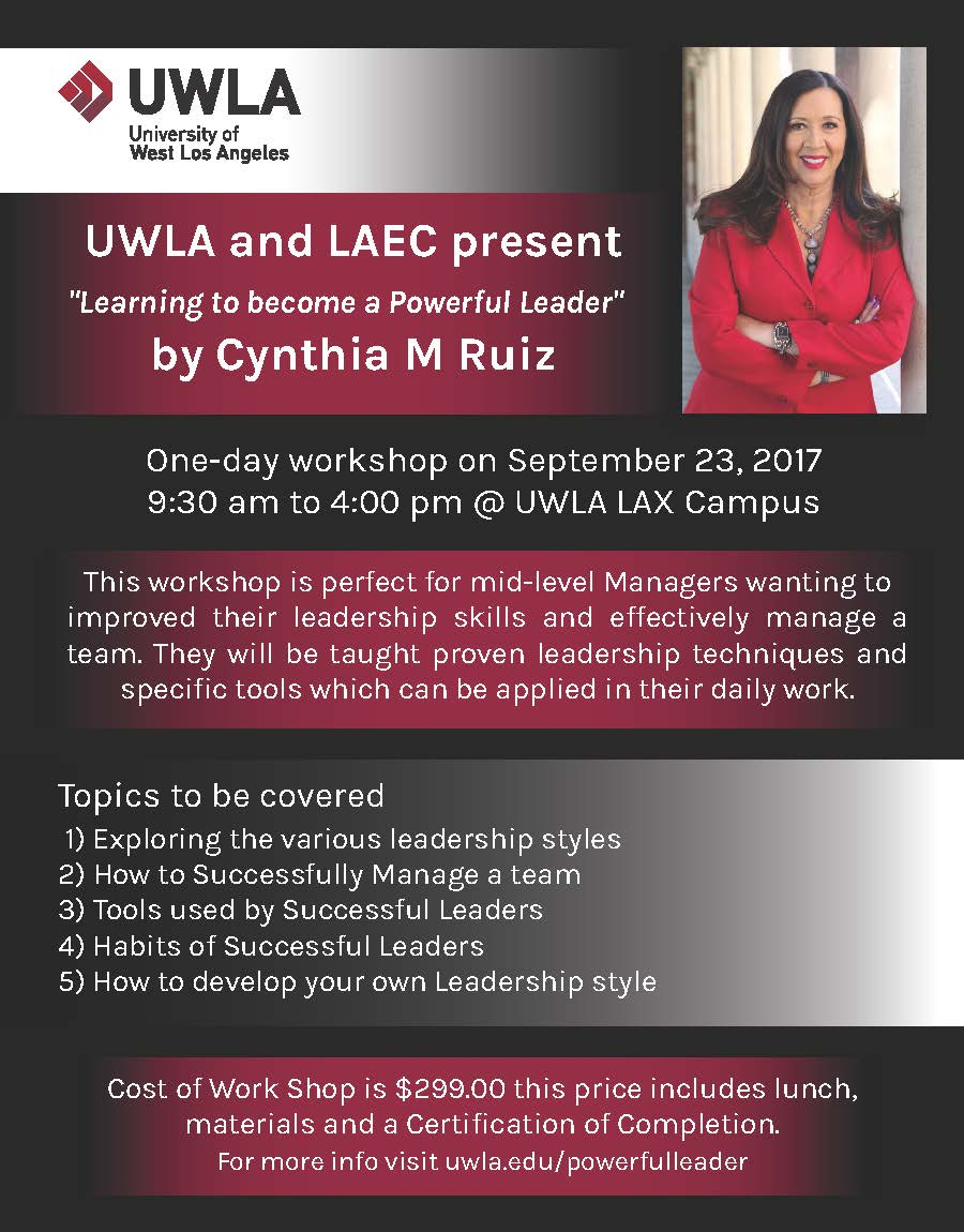 Becoming a Powerful Leader Workshop