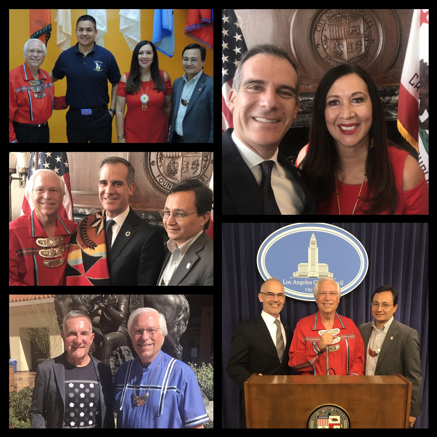 Happy to welcome the Cherokee Nation delegation to Los Angeles!