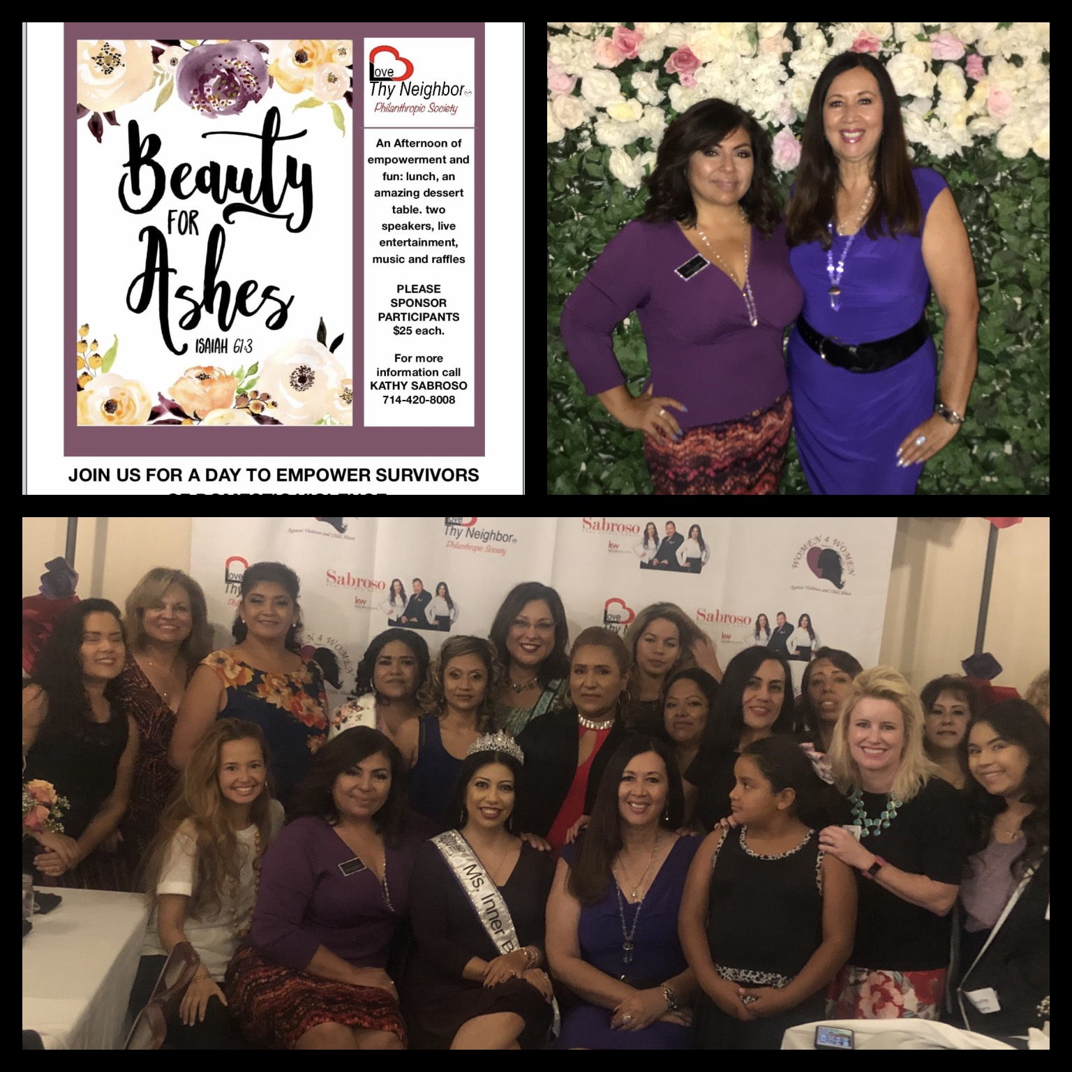 Helping women heal from Domestic Violence